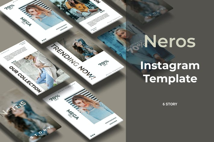 Thumbnail for Neros - Fashion Social Media Story Part 5