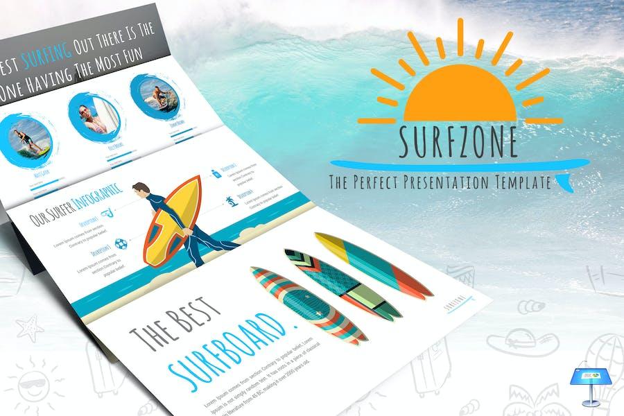 Surfzone - Keynote Template