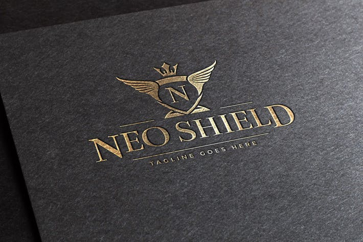 Thumbnail for Neo Shield Logo Template