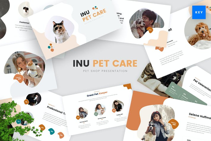 Pet Care Keynote Template