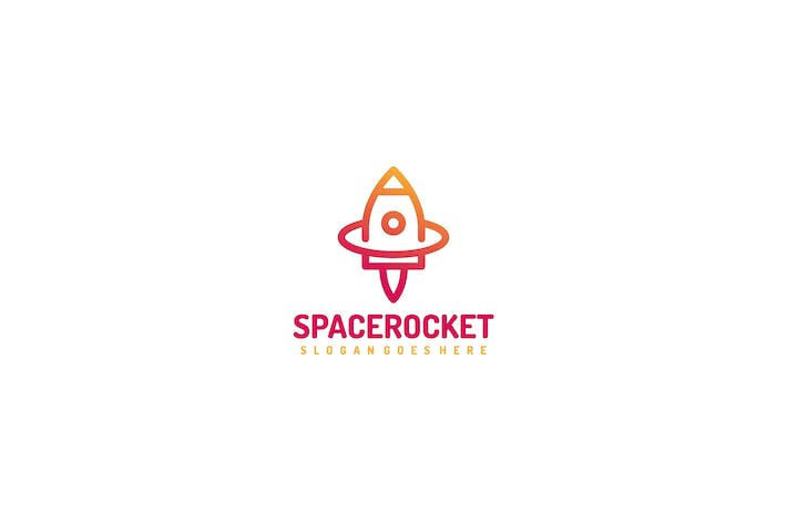 Thumbnail for Space Rocket Logo