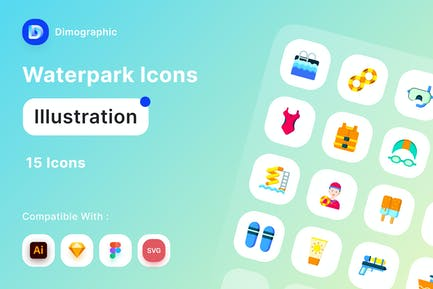Waterpark Icon Pack