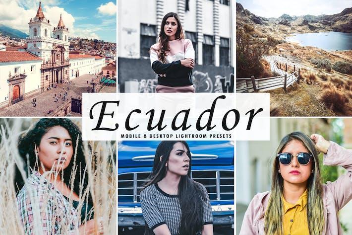 Thumbnail for Ecuador Mobile & Desktop Lightroom Presets