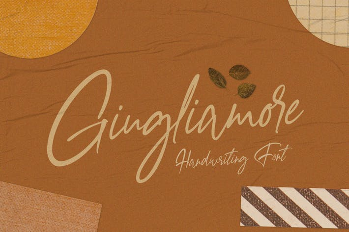 Thumbnail for Giugliamore Handwriting Font