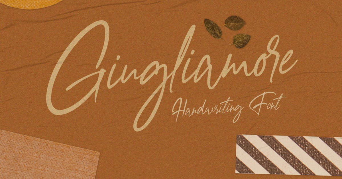 Download Giugliamore Handwriting Font by templatehere