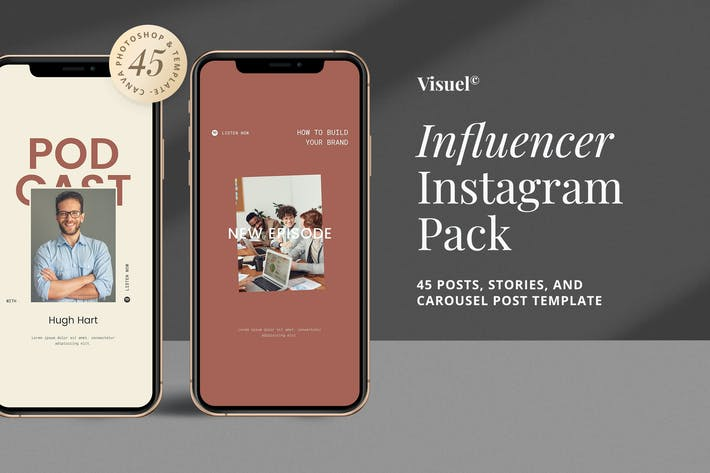 Influencer Social Media Kit v.4
