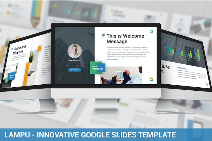 Thumbnail for Lampu - Innovative Google Slides Template