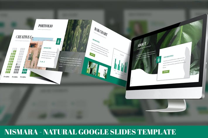 Thumbnail for Nismara - Natural Google Slides Template