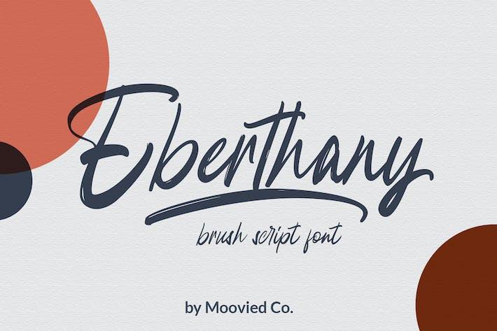 Thumbnail for Eberthany Brush Script