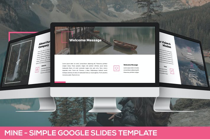 Thumbnail for Mine - Simple Google Slides Presentation Template