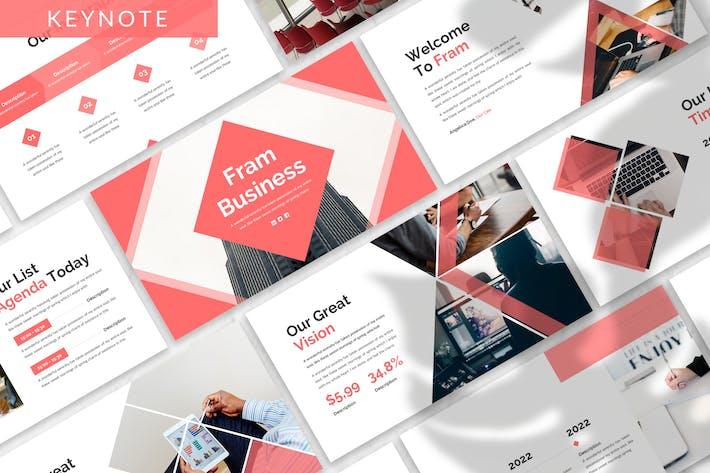 Thumbnail for Fram - Business Keynote Template