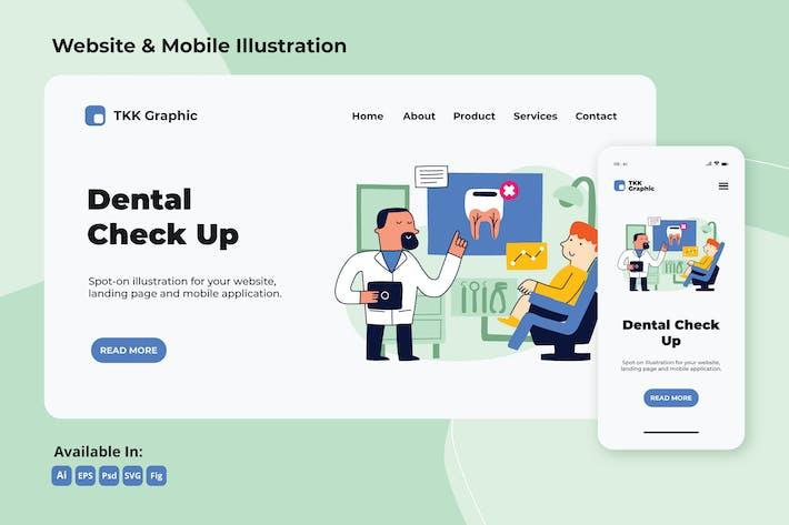 Thumbnail for Regular Dental Check up web and mobile