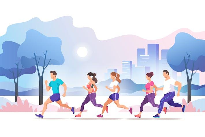 Thumbnail for City Marathon