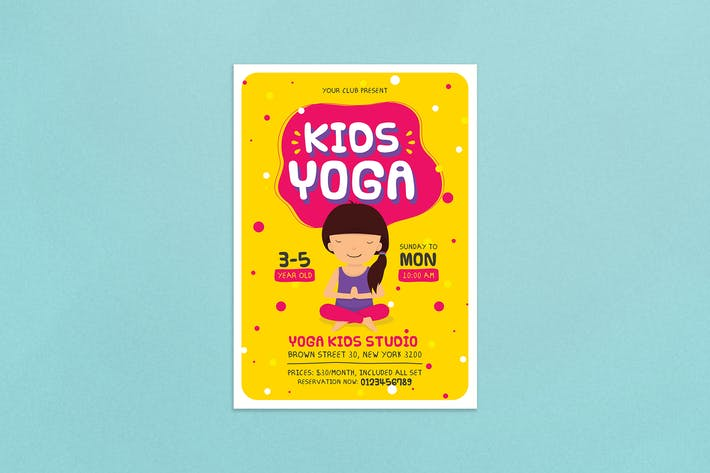 Cover Image For Kids Yoga