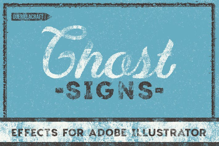 Cover Image For Ghost Signs for Adobe Illustrator