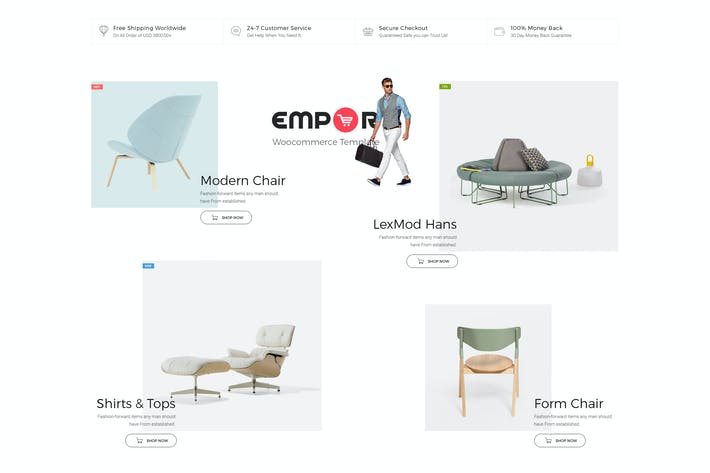 Thumbnail for Empor - eCommerce, Shop Template