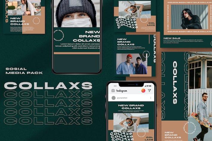 Thumbnail for Collaxs Instagram-Vorlage