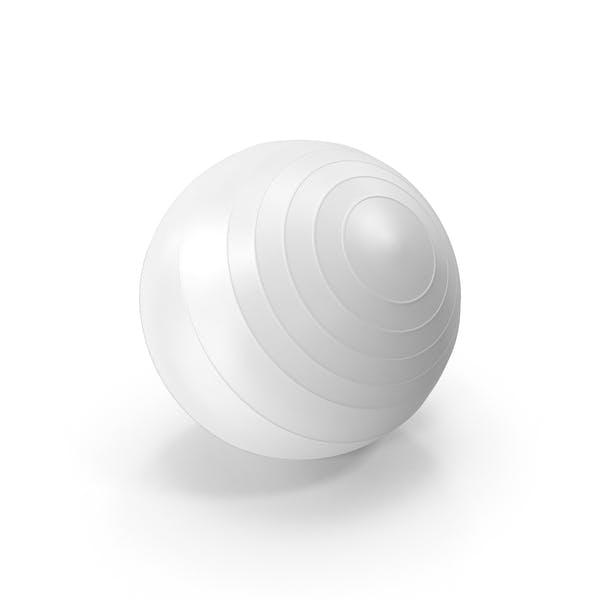 Thumbnail for Pilates Ball White