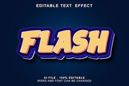 Flash 3d Text Effect