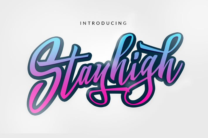 Thumbnail for Stay High Logotype