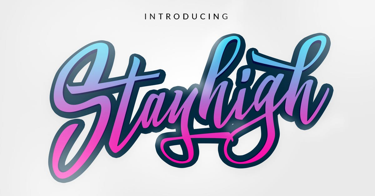 Download Stay High Logotype by dirtylinestudio
