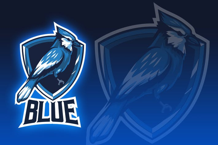 Thumbnail for Blue Bird Esport Logo