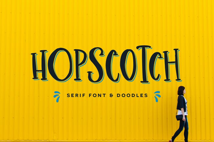 Thumbnail for Hopscotch Font