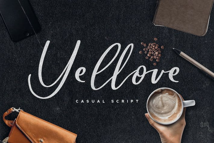 Thumbnail for Yellove Duo - Fun Casual Handwriting Fonts