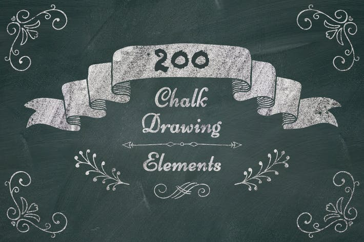 200 High Resolution PNG Elements