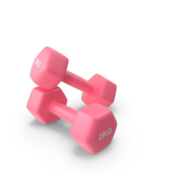 Fitness Dumbbells 2kg