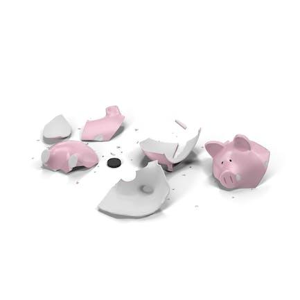 Broken Sparschwein