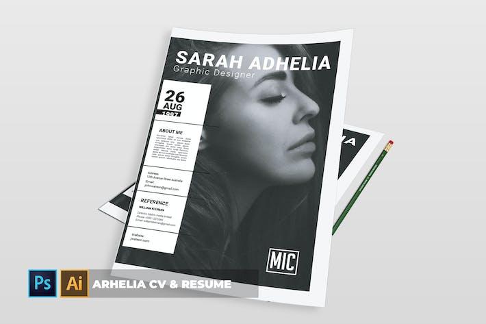Thumbnail for Arhelia | CV & Resume