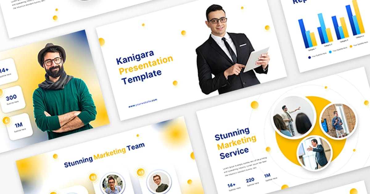 Download Kanigara - Marketing Keynote Template by bayuapriansyahk