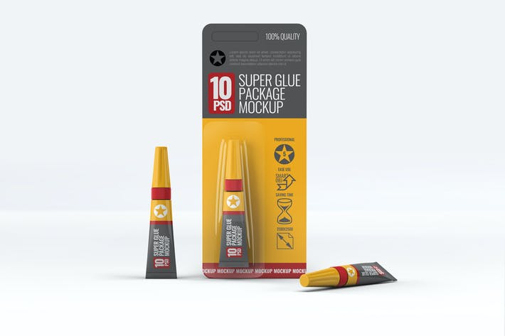 Thumbnail for Super Glue Packaging Mock-Up