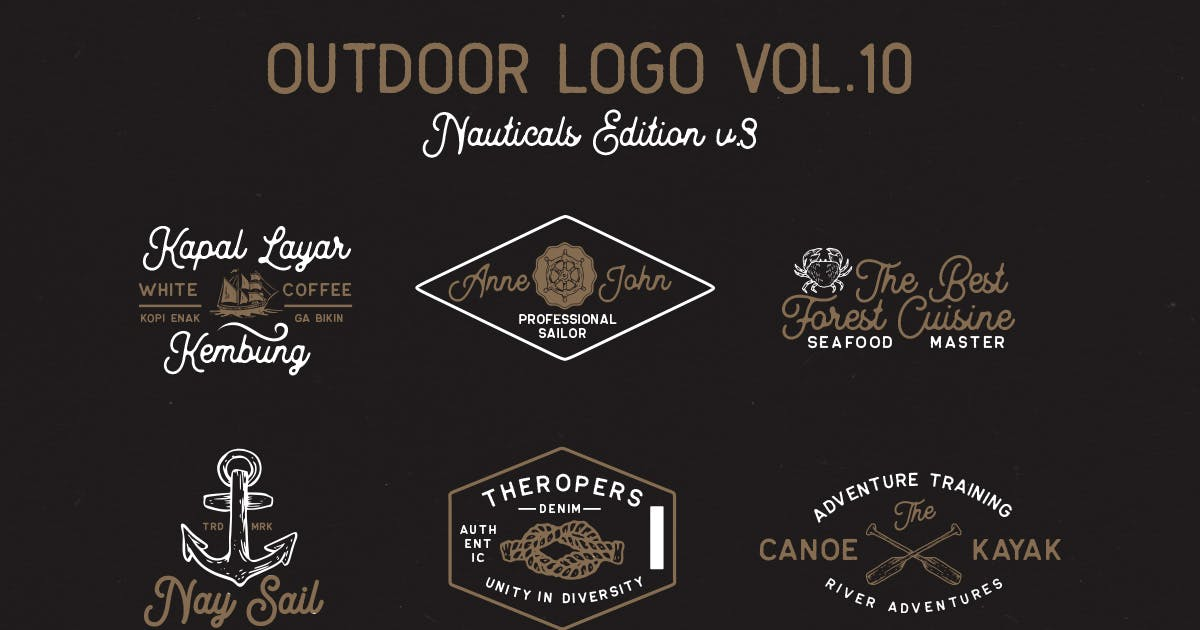 Download Outdoor Logo Vol.10 by letterhend