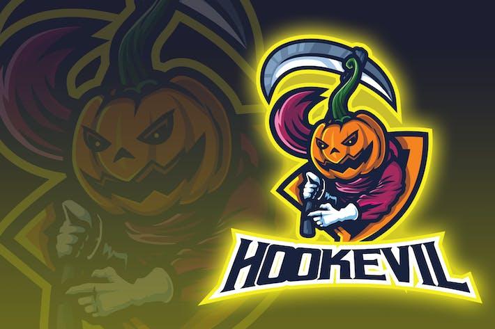 Thumbnail for Sickle Evil Esport Logo