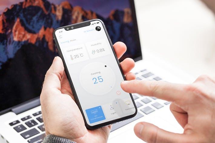 Thumbnail for Smart Home Living Room Mobile Ui - B