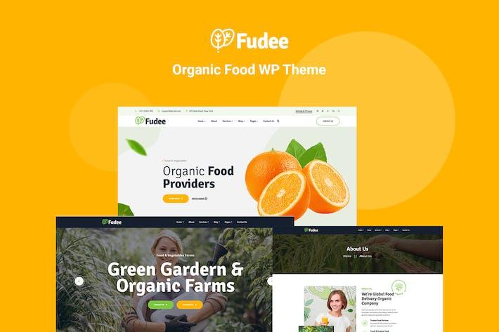 Thumbnail for Fudee - Organic Food Elementor WordPress Theme