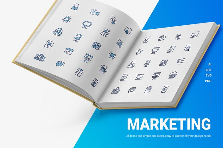Marketing - Icons