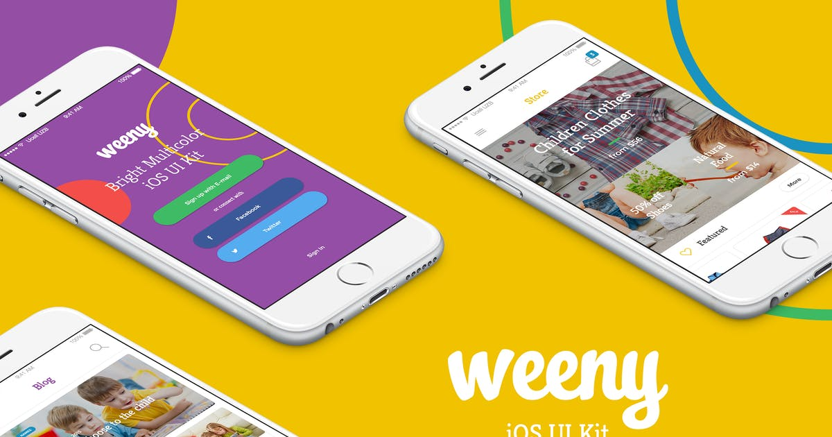 Download Weeny iOS UI Kit by Unknow
