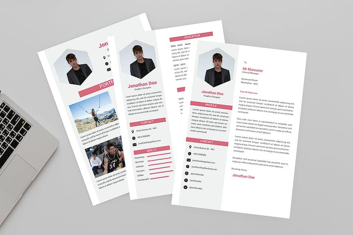 Thumbnail for Attractive Resume Designer