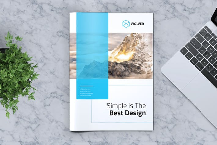 Thumbnail for Creative Brochure Template Vol. 05