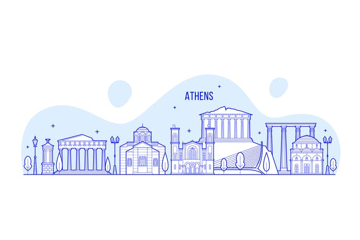 Thumbnail for Athens skyline, Greece