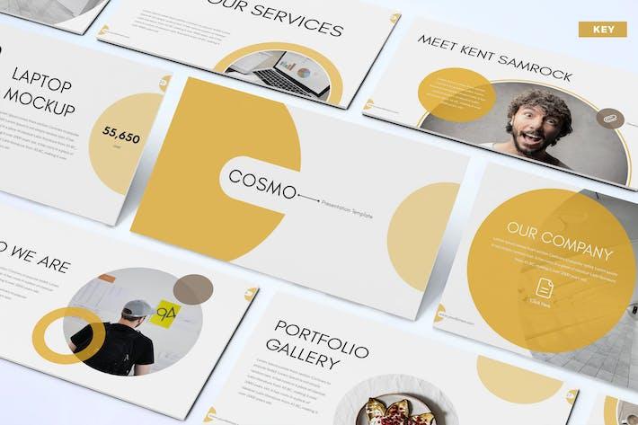 Thumbnail for Cosmo - Шаблон ключевых заметок бизнеса