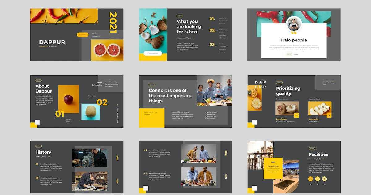 Download Dappur - Seattle Powerpoint Template by celciusdesigns