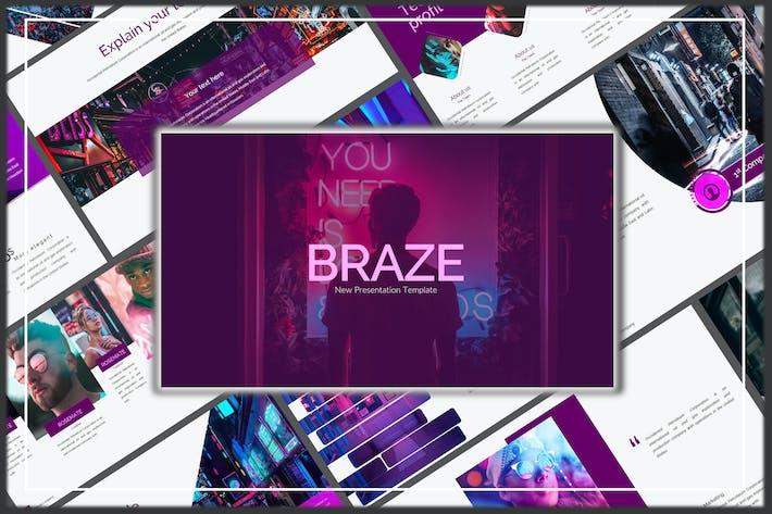 Thumbnail for Braze Innovative Powerpoint