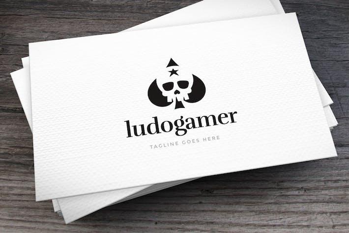 Ludogamer Logo Template