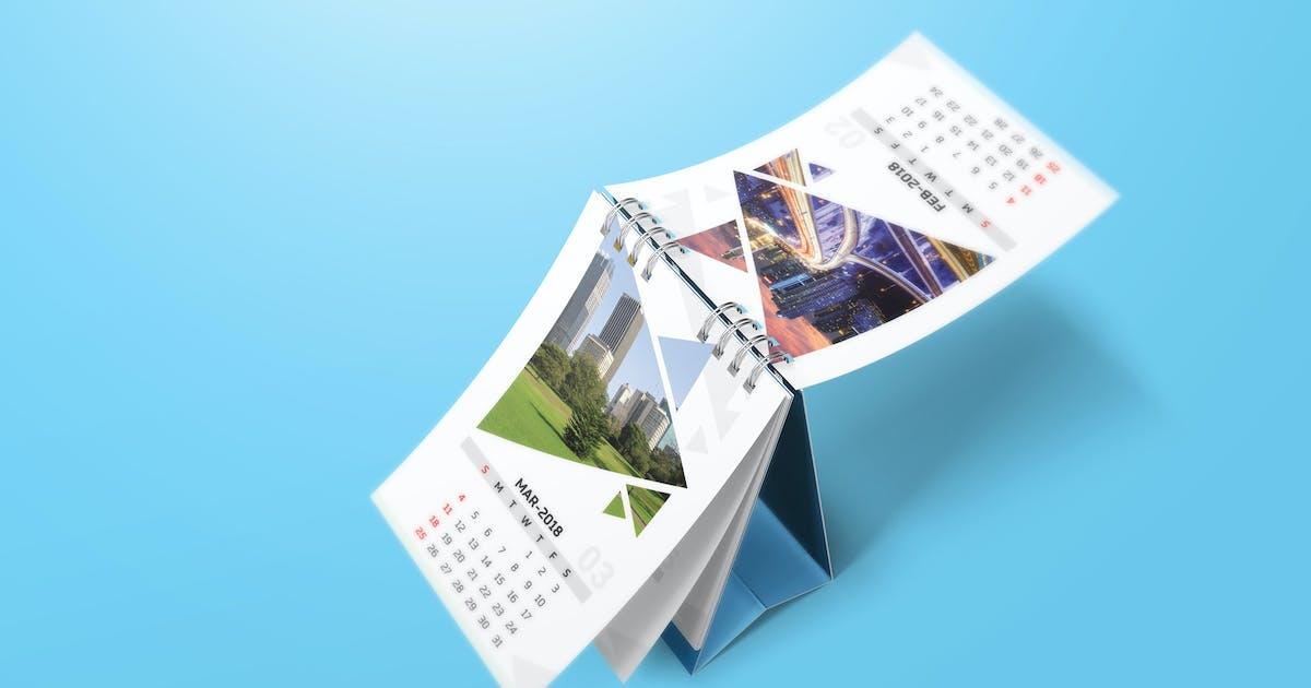 Download Desk Calendar Mockups by StreetD