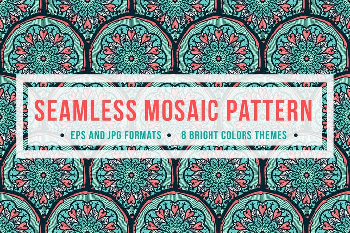 Thumbnail for Seamless Mosaic Pattern