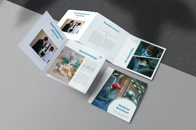 Medical Brochure Square Project